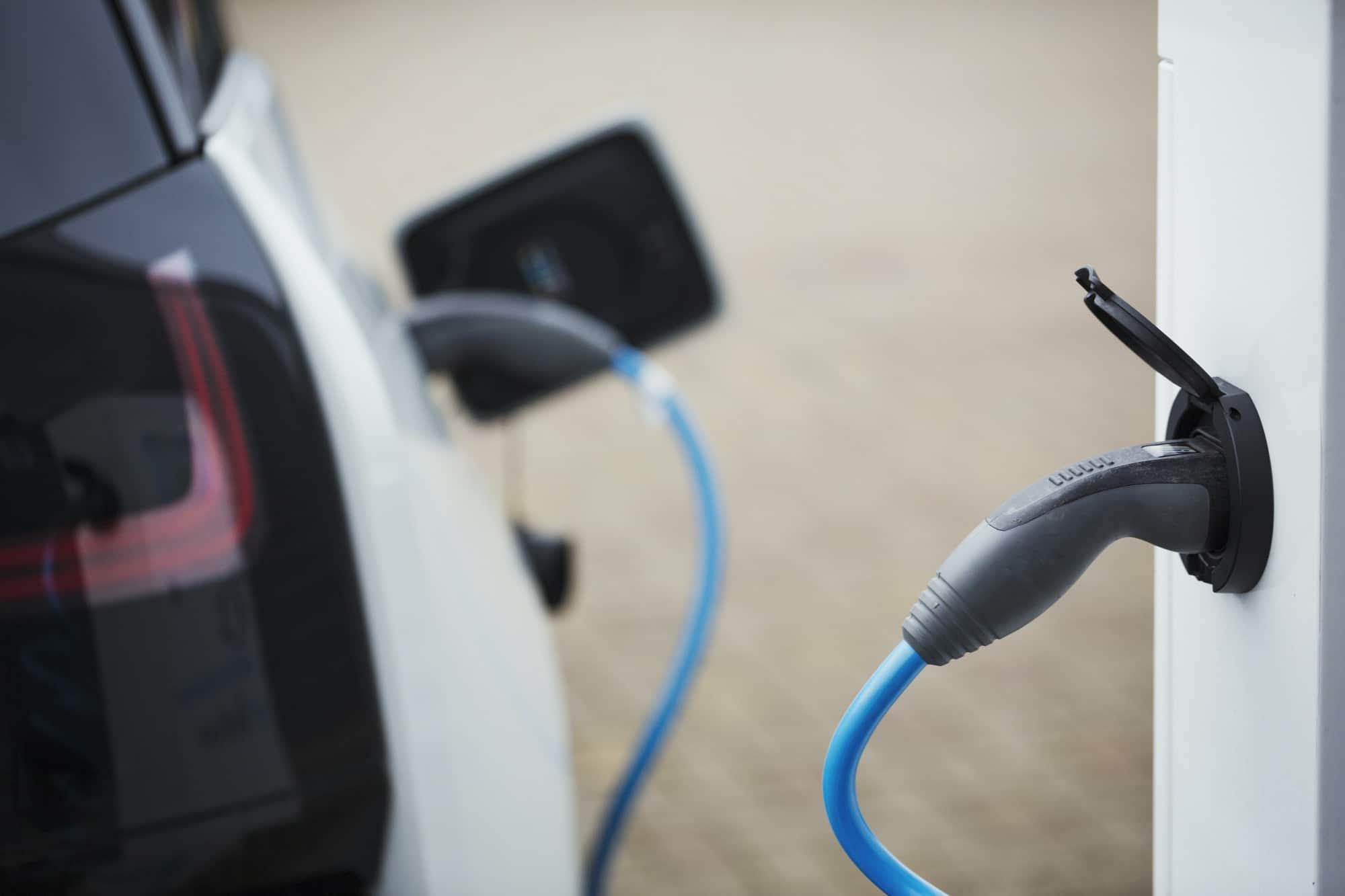 electric-car-being-charged